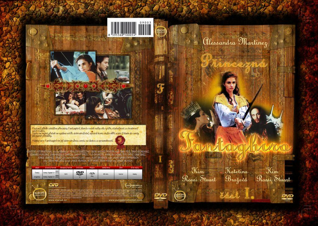 Grafický návrh DVD obalu